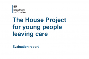 Evidence showing that dreams can come true for young people leaving care