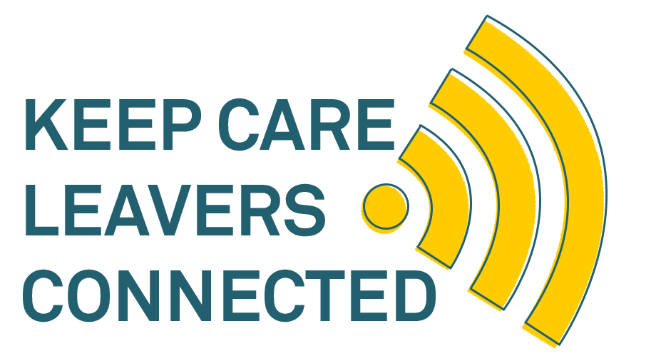 Keep Care Leavers Connected logo